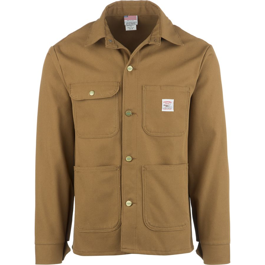Pointer Brand Brown Duck Chore Coat - Mens