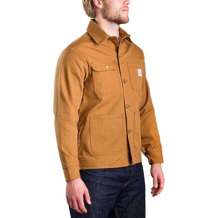 Pointer Brand Brown Duck Chore Coat Men S Backcountry Com