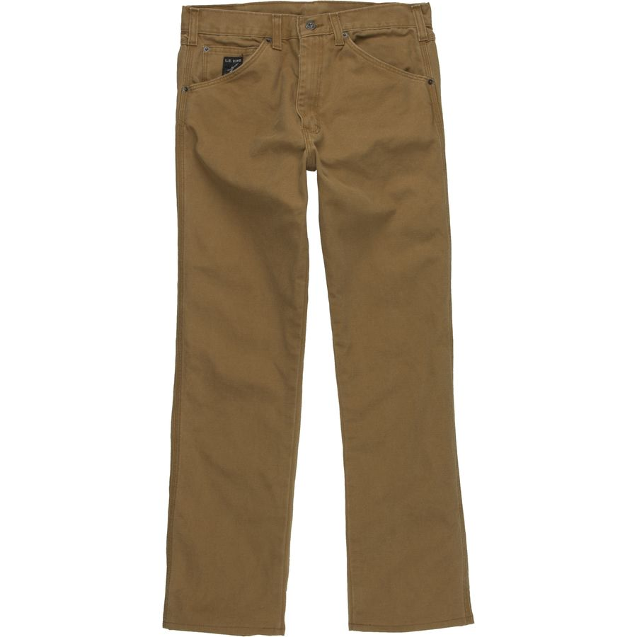 Pointer Brand Premium Wash Brown Duck Denim Pant - Mens