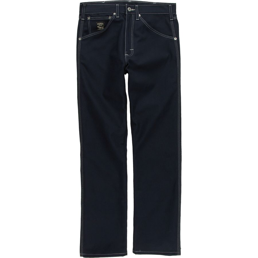 Pointer Brand Raw Navy Duck Jeans - Mens
