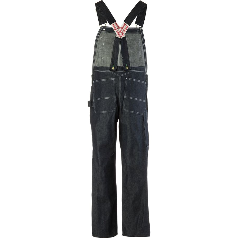 Pointer Brand Low Back Full Cut Denim Overalls Men S