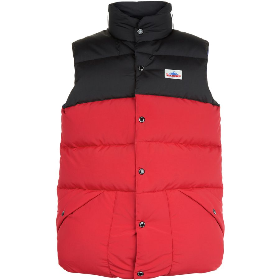 Penfield Outback Colorblocked Down Vest - Mens