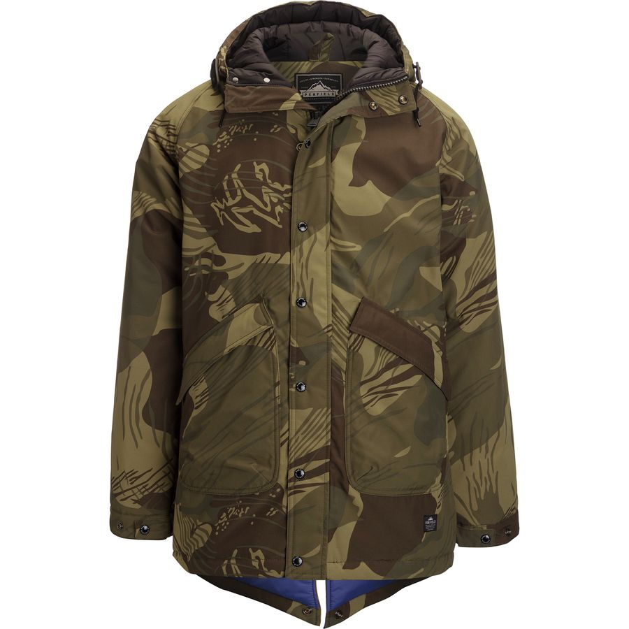 Penfield Kingman Camo Insulated Fishtail Parka - Men's - Up to 70 ...