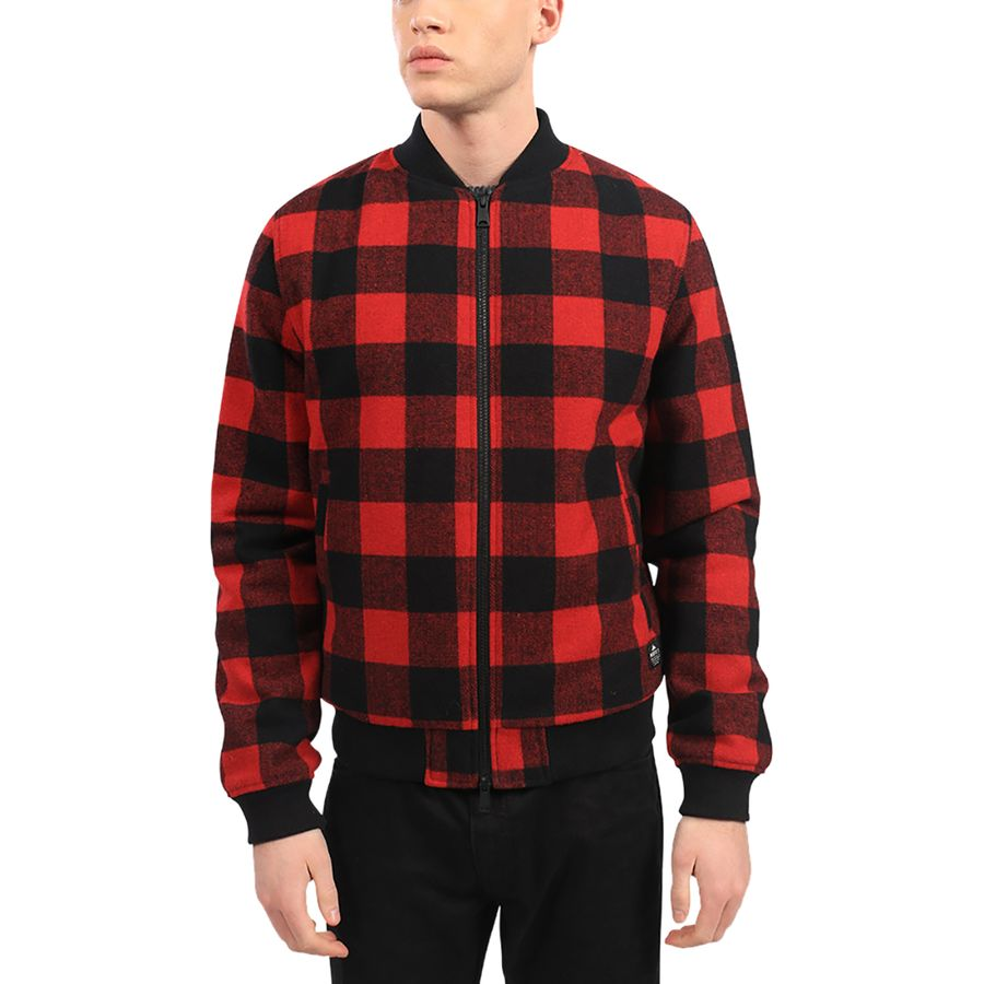 Penfield Glendale Buffalo Bomber Plaid Jacket - Mens