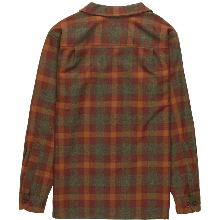 pendleton guys Pendleton wool plaid shirt in men's tall sizes are made of machine-washable wool that provides supreme durability, warmth and comfort.