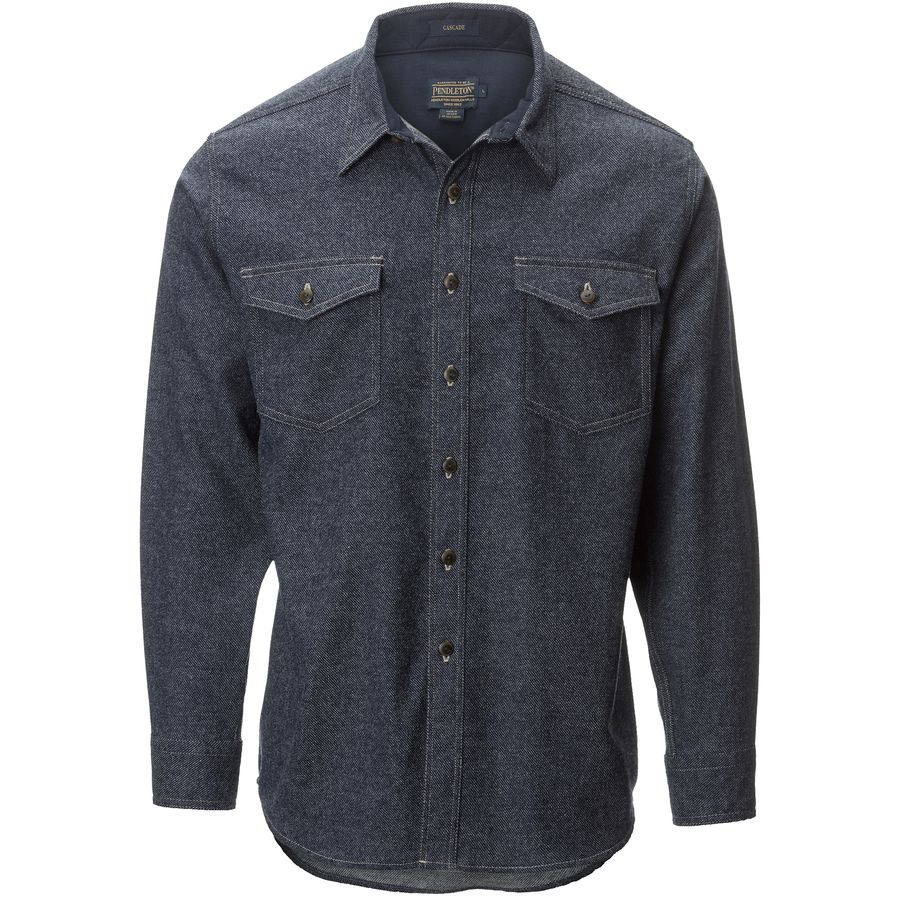 Pendleton Cascade Denim Fitted Shirt - Mens