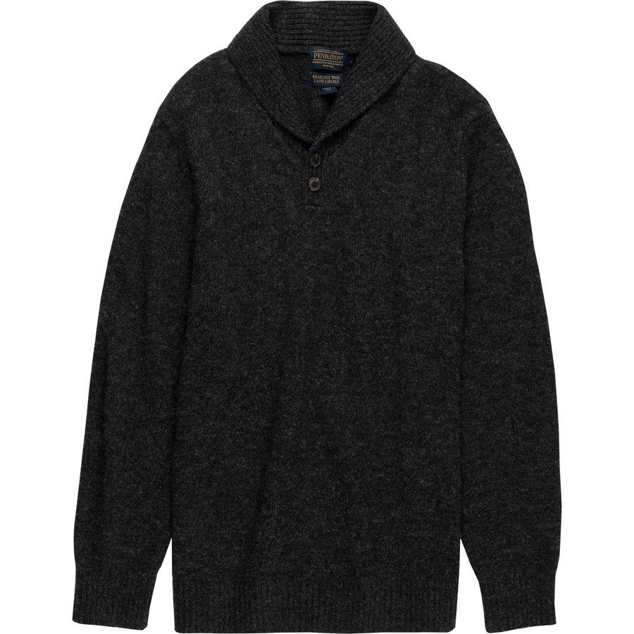 Pendleton Shetland Shawl Collar Pullover - Mens