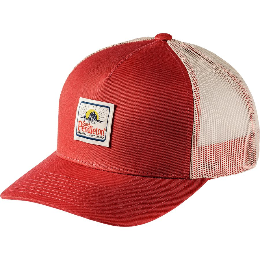 Pendleton - Surf Trucker Hat - Red Rust 0bf80e9a43b