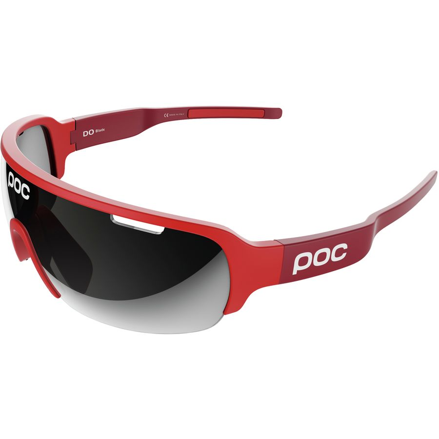 793b292862a POC - Do Half Blade Sunglasses - Bohrium Red Violet Silver Mirror Clarity