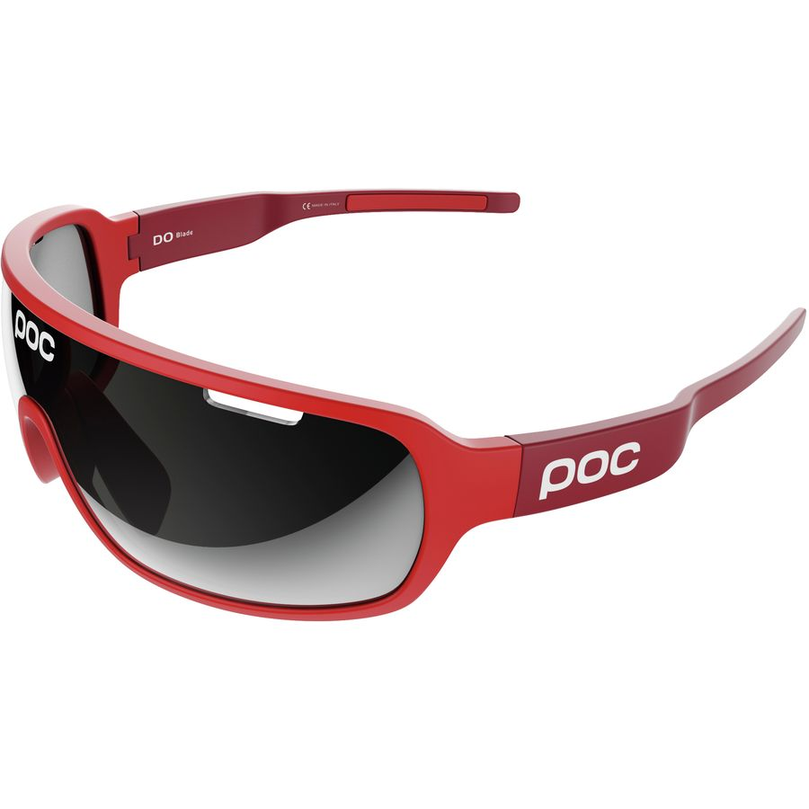 11091aa5cc POC - Do Blade Raceday Sunglasses - Bohrium Red Violet Silver Mirror Clarity