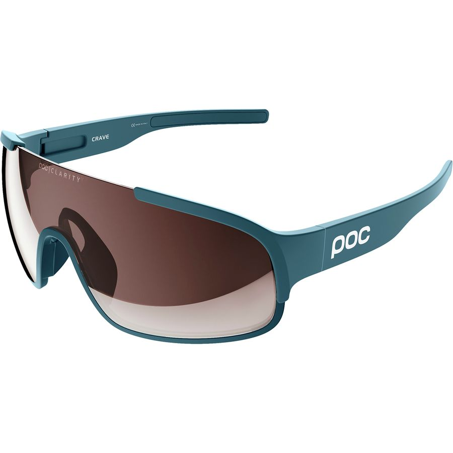 2bccb831e4 POC - Crave Sunglasses - Antimony Blue Brown Silver Mirror Clarity