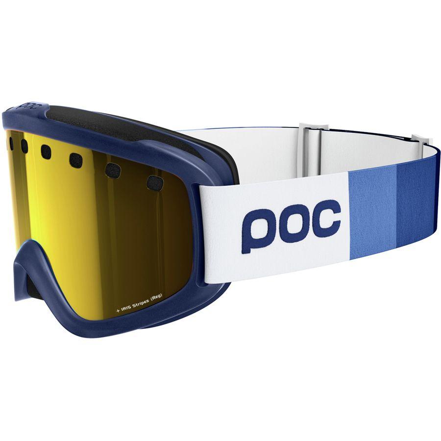 556750ff68d POC - Iris Stripes Goggles - Butylene Blue Bronze Silver Mirror