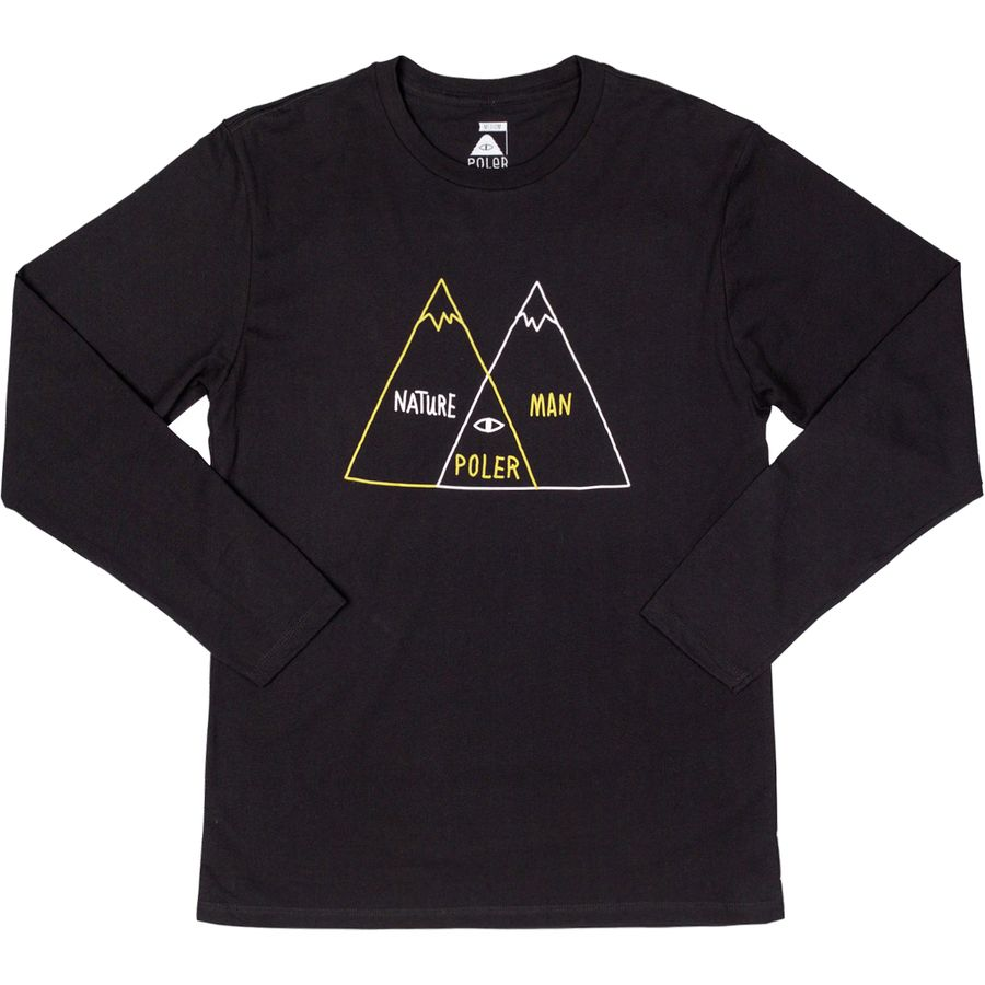 Poler Venn Diagram Long-Sleeve T-Shirt - Mens