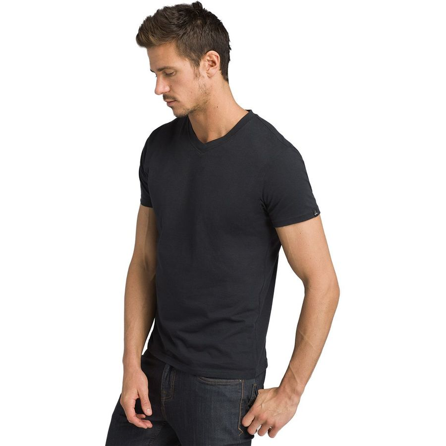 Prana V-Neck Slim Fit T-Shirt - Mens