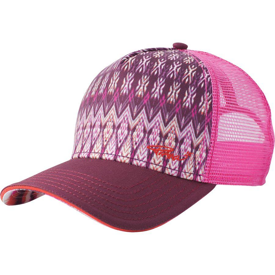 eb095f21890 Prana - La Viva Trucker Hat - Women s - Black Cherry Izabal