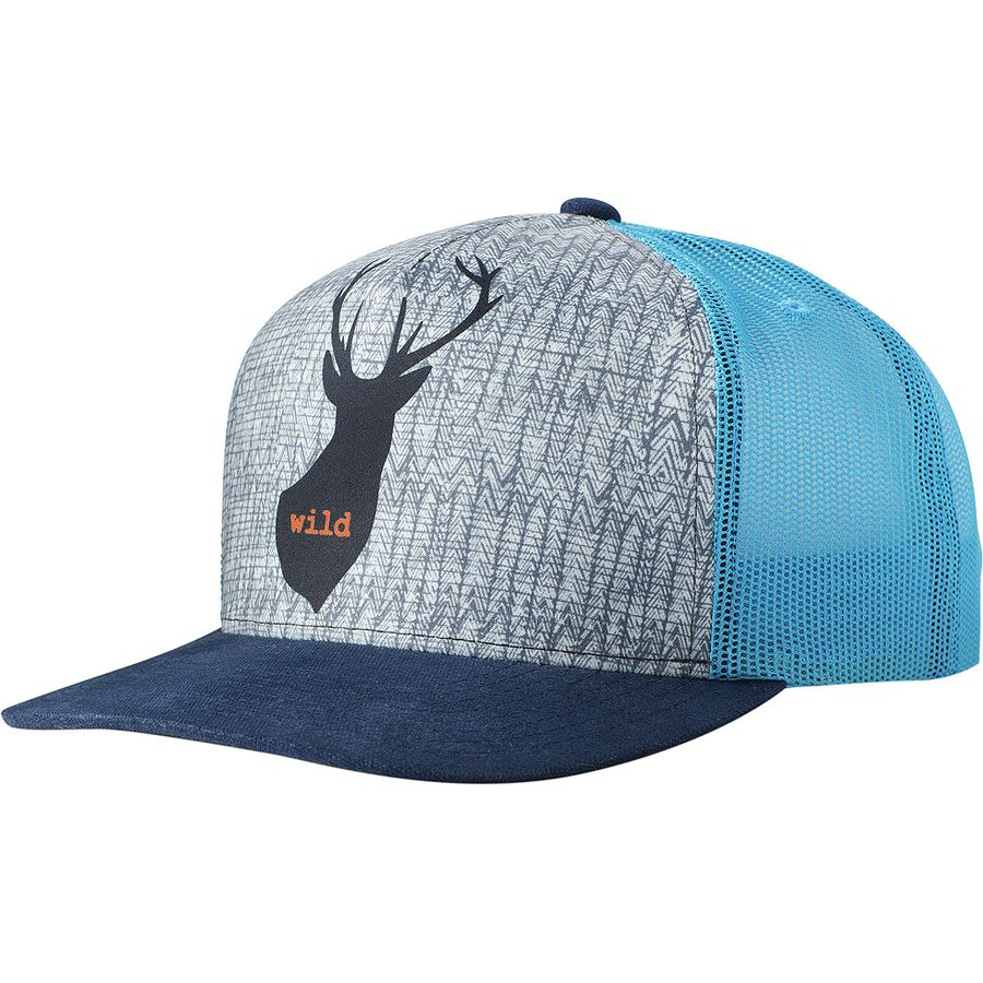 Prana - Journeyman Trucker Hat - Men s - Buck Wild f4bc77d25f4