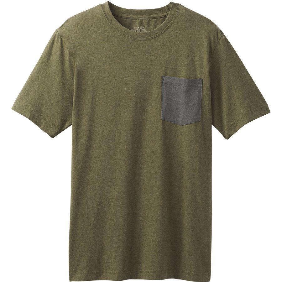 Prana Pocket Slim T-Shirt - Mens