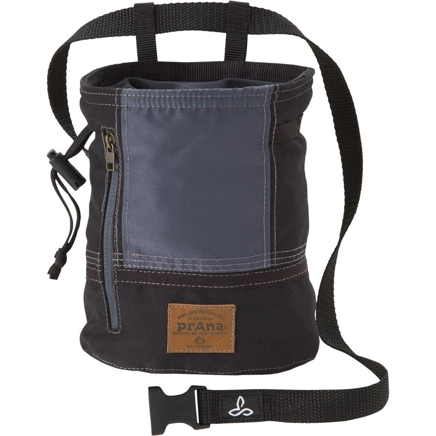 Prana Color Block Chalk Bag Black