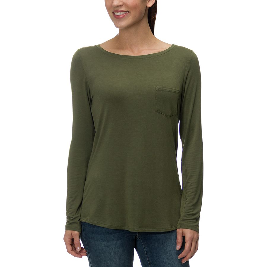 Prana Foundation Tunic - Long-Sleeve - Womens