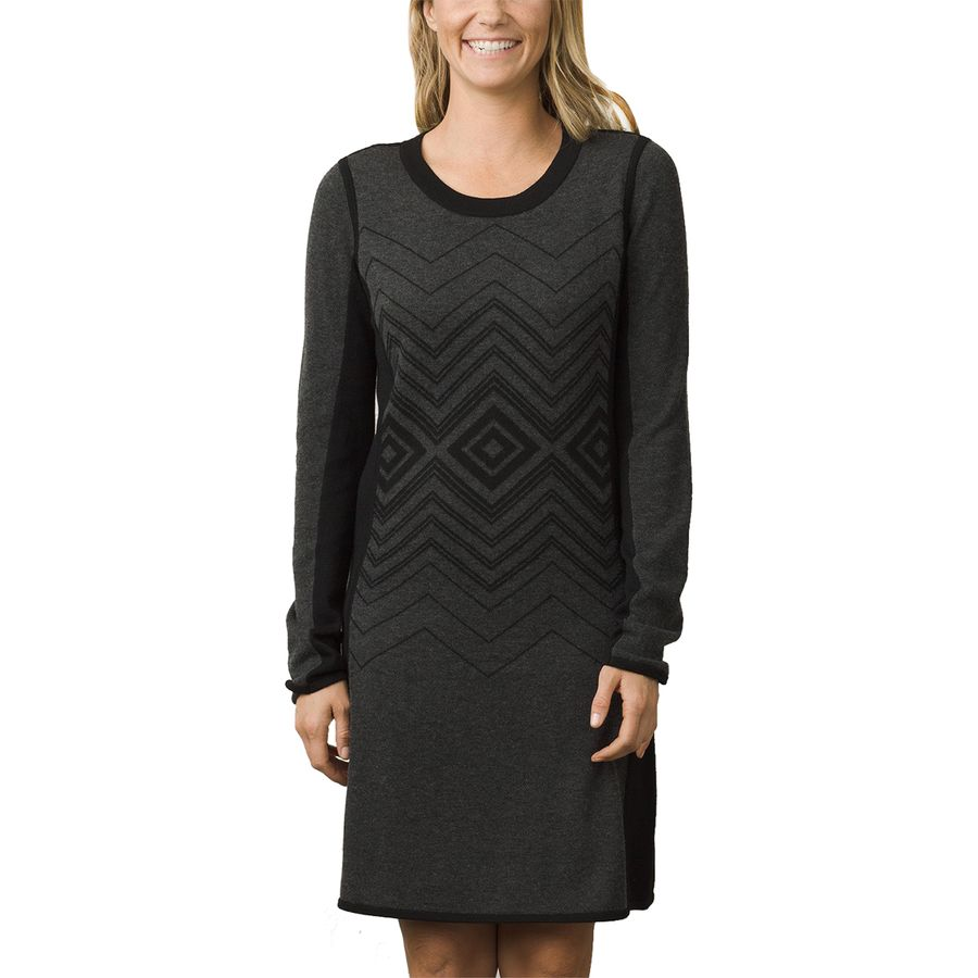 Prana Delia Dress - Long-Sleeve - Womens