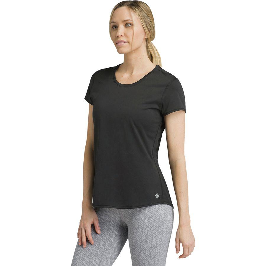 prAna Womens Revere Short Sleeve Tee Prana Sports Apparel W11170013-OIH-P