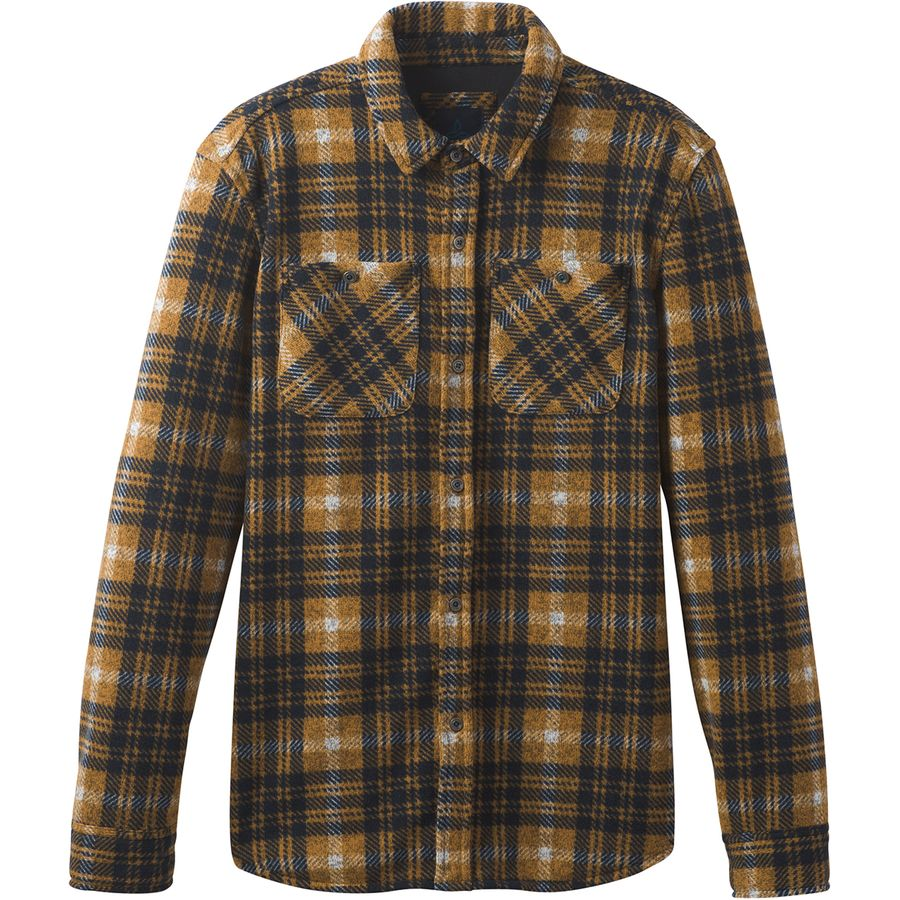 Prana Everton Flannel Shirt Jacket - Men's | Backcountry.com