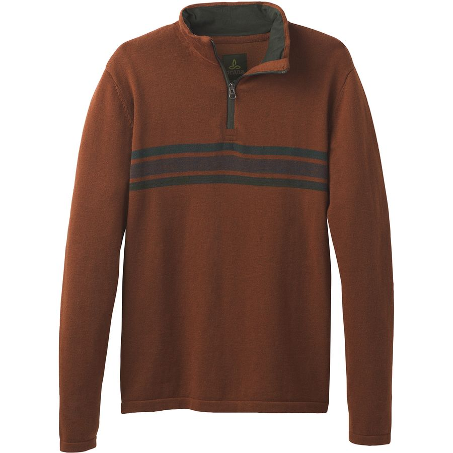 Prana Holberg 1/4-Zip Sweater - Mens
