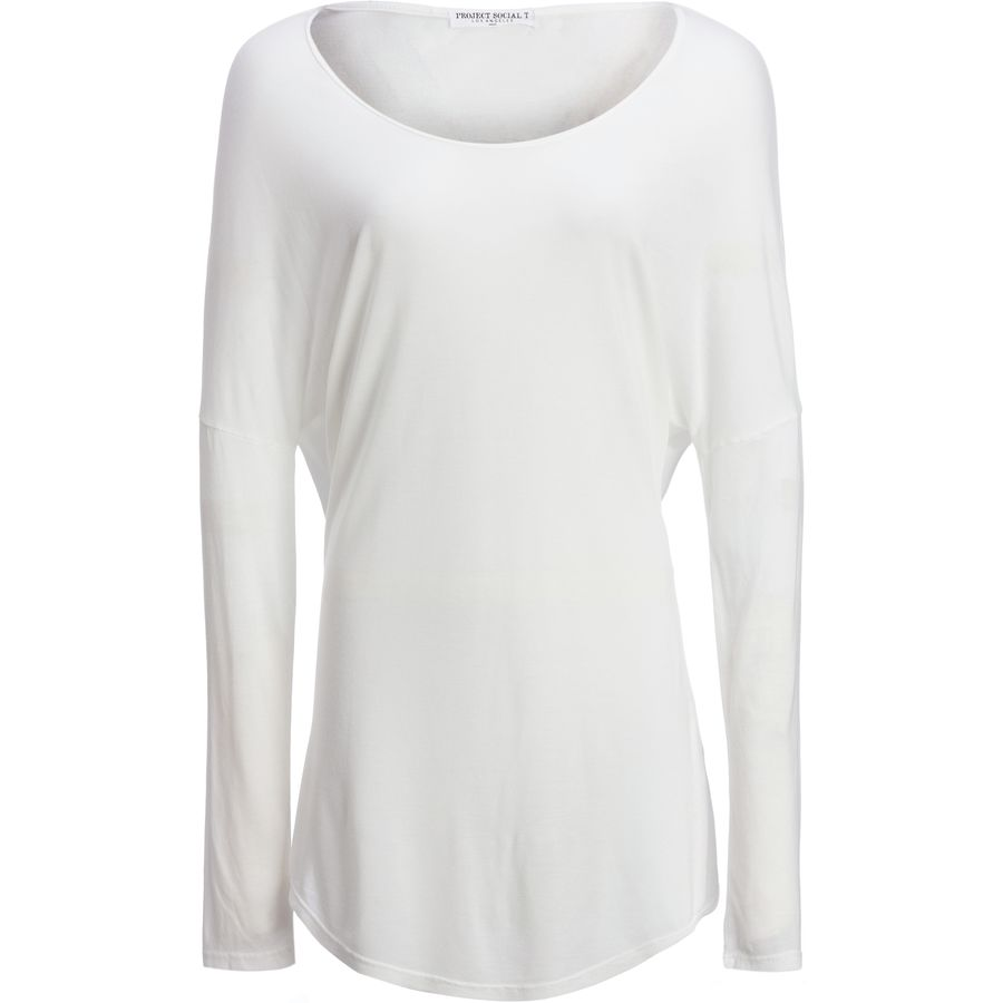 Project Social T Lea Long-Sleeve Shirttail - Womens