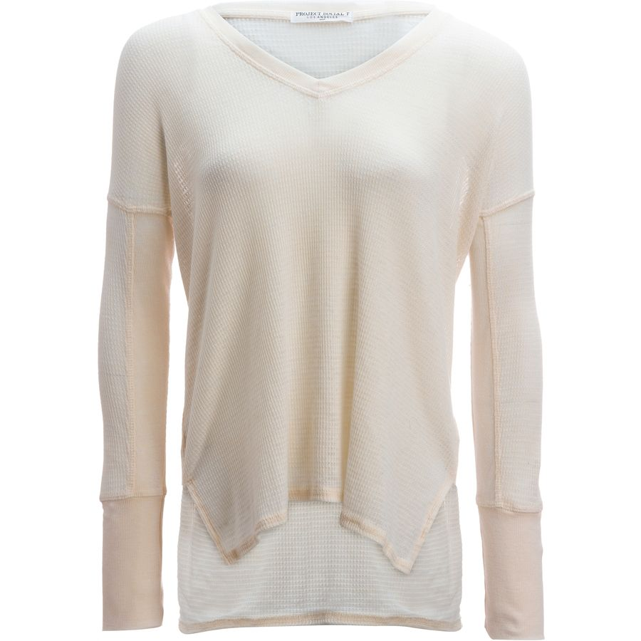 Project Social T Sawyer Burnout Thermal Shirt - Womens