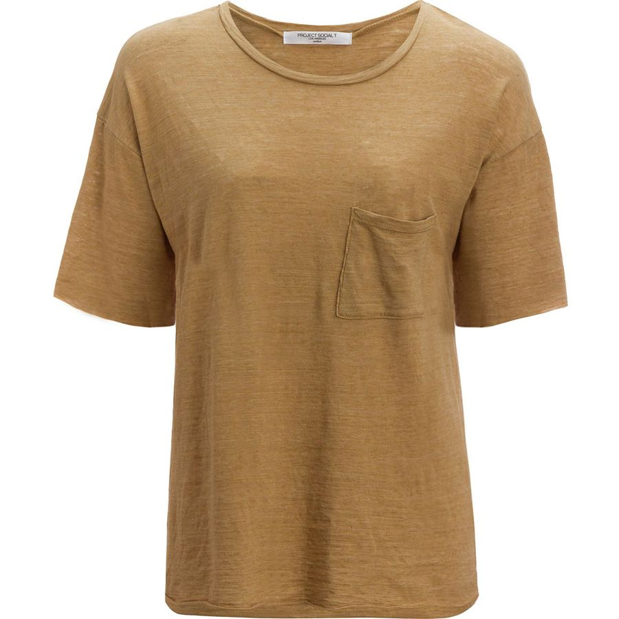 Project Social T Tomboy Pocket T-Shirt - Womens