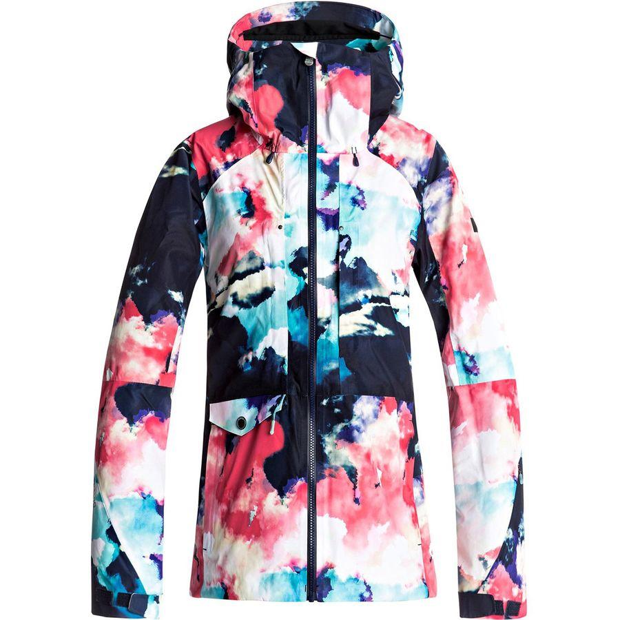 roxy essence 2l gore tex jacket women 39 s. Black Bedroom Furniture Sets. Home Design Ideas