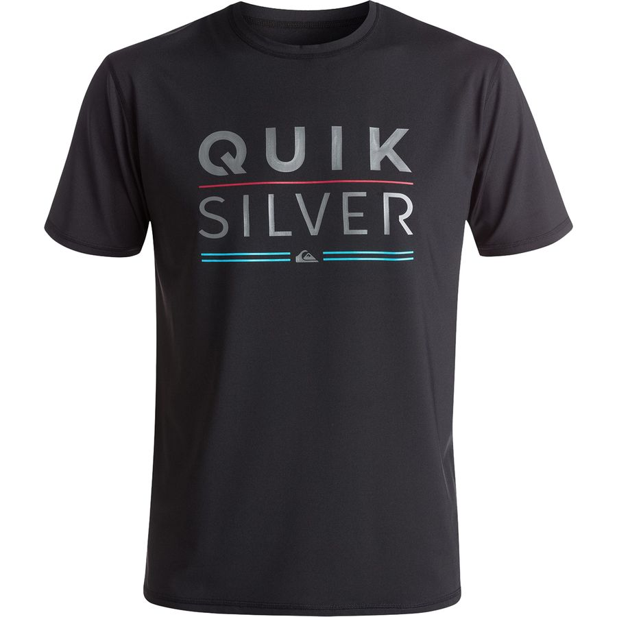 Quiksilver Fully Stacked Rashguard - Short-Sleeve - Mens