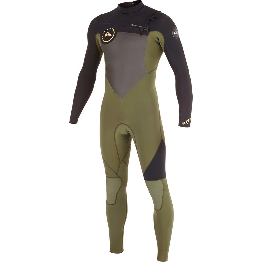Quiksilver 3/2 Syncro GBS Chest-Zip Full Wetsuit - Mens