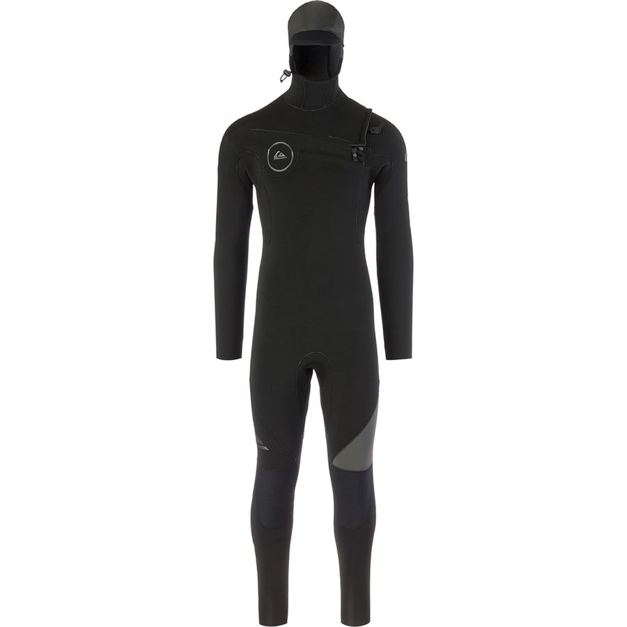 Quiksilver 5/4/3 Syncro Chest Zip GBS Hooded Wetsuit - Mens