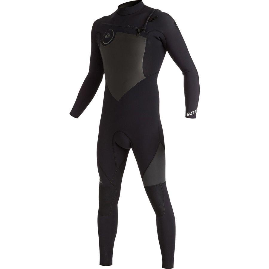 Quiksilver 3/2 Syncro Chest Zip GBS Wetsuit - Mens