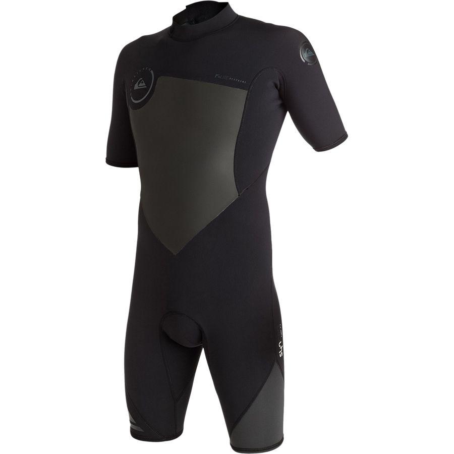 Quiksilver 2/2 Syncro Back Zip Spring FLT Wetsuit - Mens