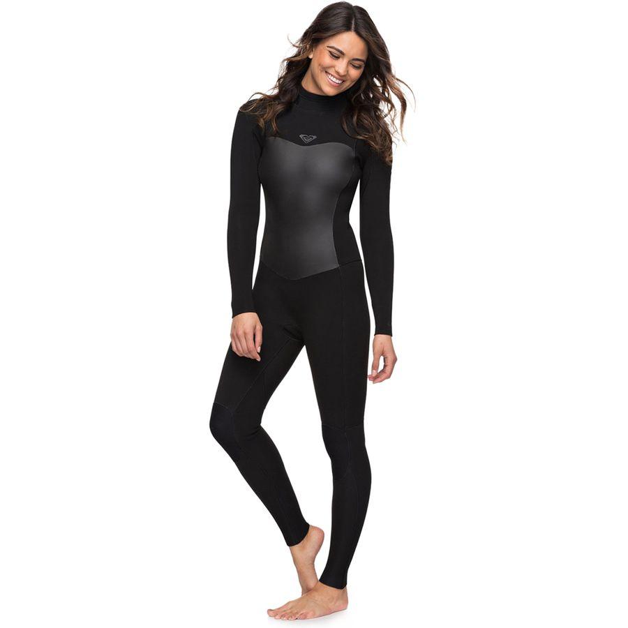 Roxy - 4 3 Syncro Back Zip GBS Wetsuit - Women s - Black a0b43af0b