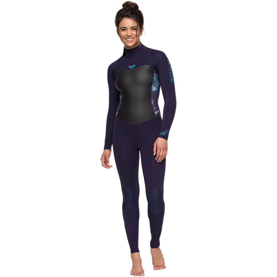Roxy - 3 2 Syncro Back-Zip GBS Wetsuit - Women s - Blue Ribbon 0daf98153