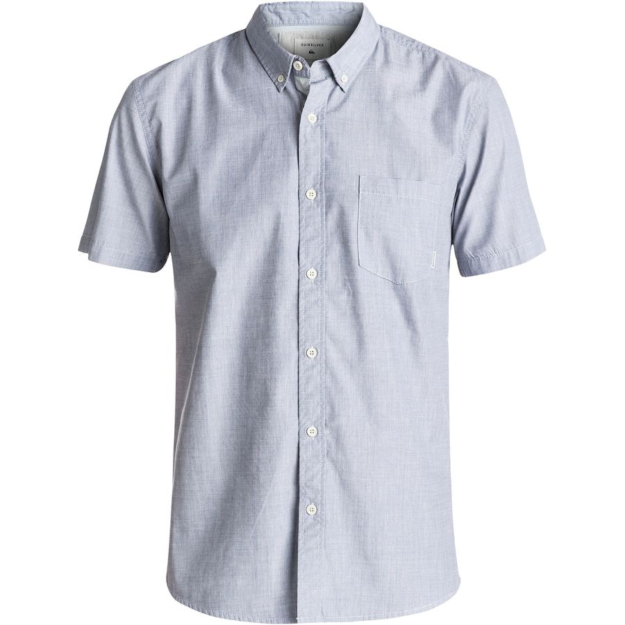 Quiksilver Everyday Wilsden Short-Sleeve Button-Up Shirt - Mens
