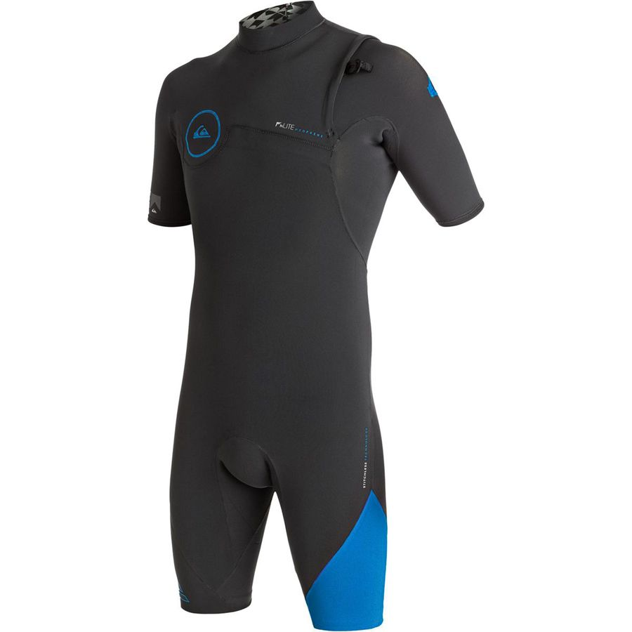 Quiksilver 2/2 Highline Zipperless Short-Sleeve Spring Wetsuit - Mens