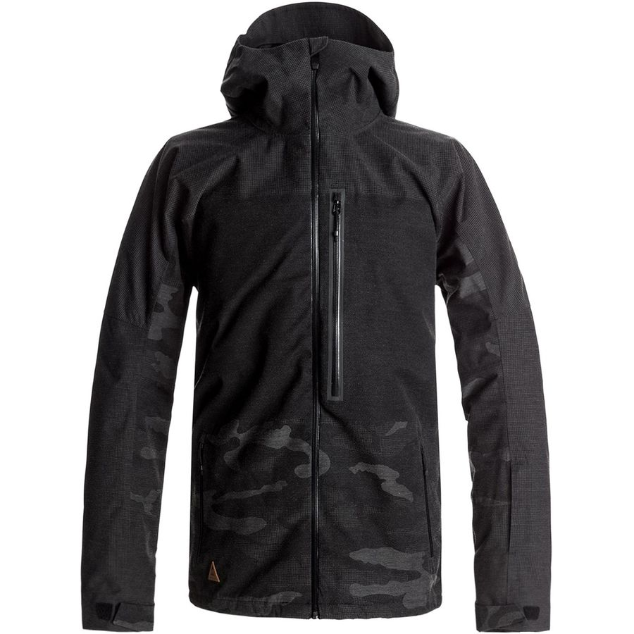 Quiksilver Cell Hooded Jacket - Mens