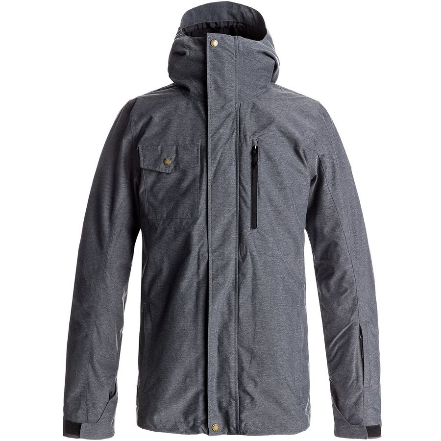 Quiksilver Mission 3-In-1 Hooded Jacket - Mens