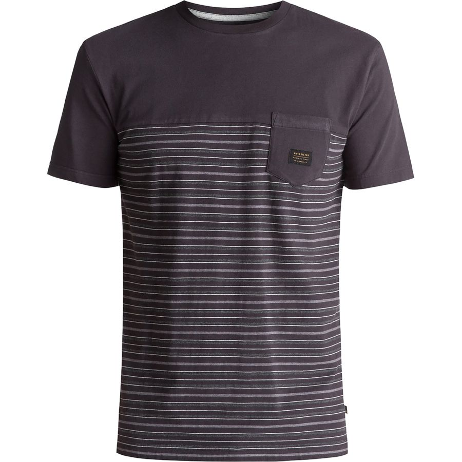 Quiksilver Full Tide Crew T-Shirt - Mens