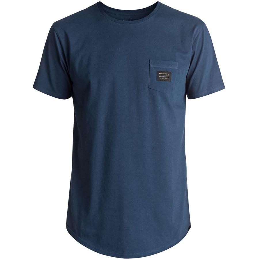 Quiksilver Scallop East Woven Short-Sleeve Pocket T-Shirt
