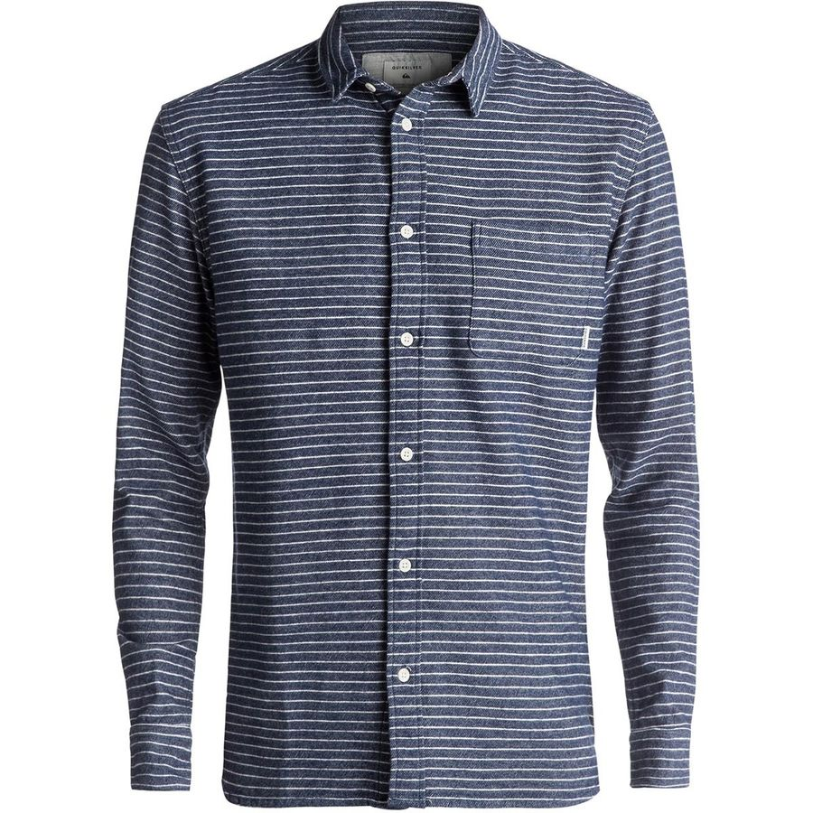 Quiksilver Crossed Tide Flannel Shirt - Mens