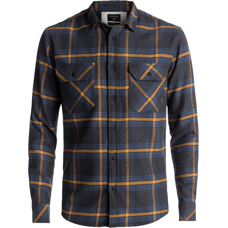 Quiksilver Fitz Forktail Flannel Shirt - Mens