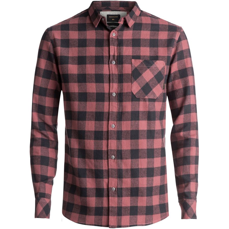 Quiksilver Motherfly Flannel Shirt - Mens