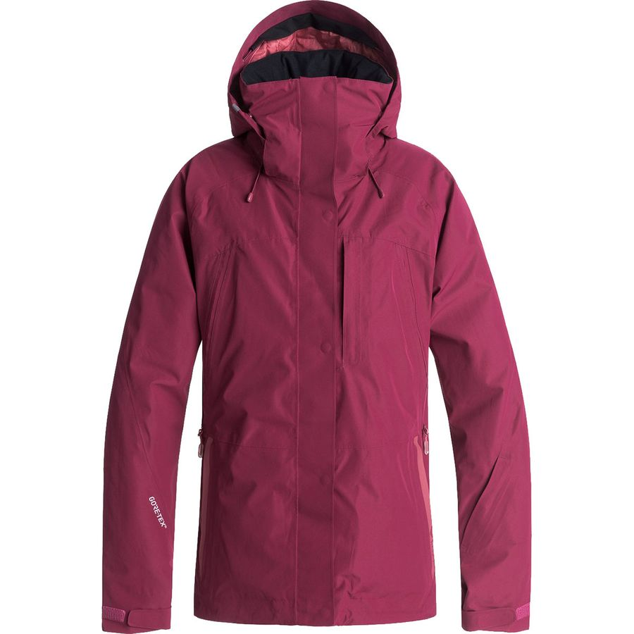 Roxy - Wilder 2L Gore-Tex Hooded Jacket - Women s - Beet Red d345aee4bf56