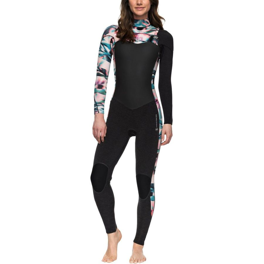 Roxy 4/3 Performance Chest-Zip Hydrolock Wetsuit - Womens