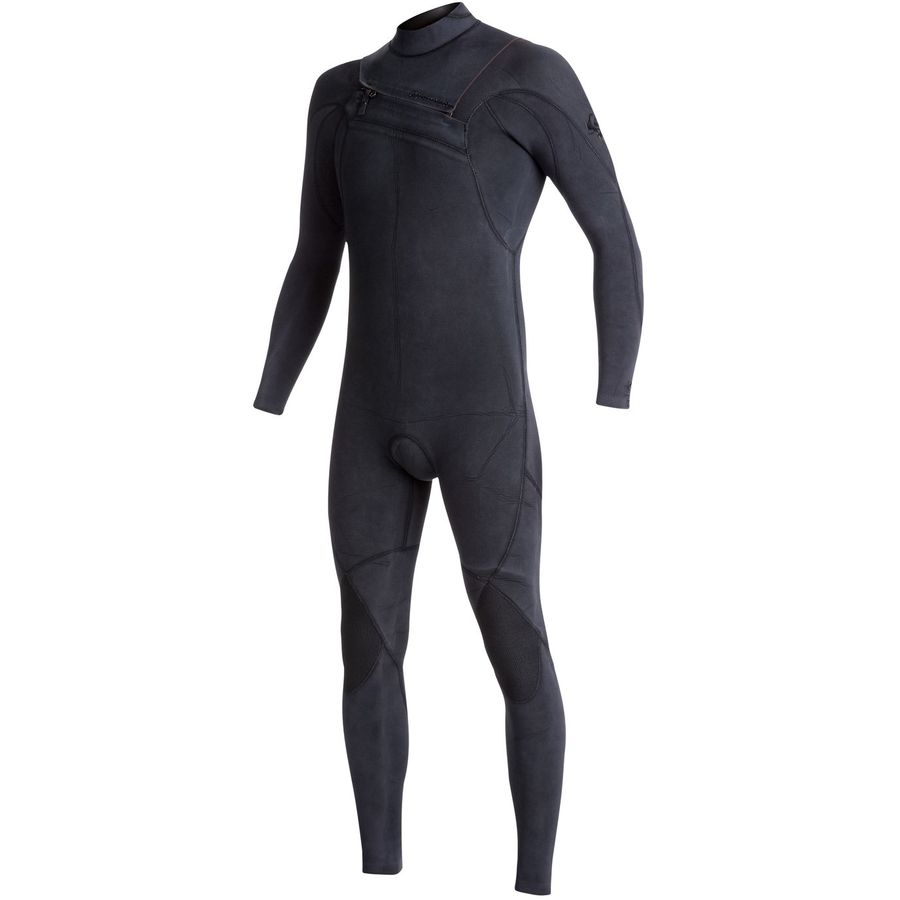 Quiksilver 3/2 Monochrome Azip GBS Chest-Zip Steamer Wetsuit - Mens